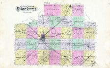 Outline Map, McLean County 1895